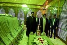 رئیس جدید قوه قضائیه با آرمانهای امام راحل تجدید میثاق کرد