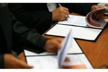 امضا دو تفاهمنامه در راستای توسعه اقتصادی خراسان رضوی