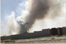 انفجار دستگاه تولید پودرآلومینیم در مشهد یک مجروح داشت
