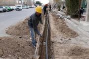 مشکل تامین آب آشامیدنی محله کلخوران اردبیل حل شد