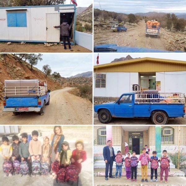 توزیع ۵۰۰ بسته کمک تحصیلی بین دانش آموزان مناطق محروم دزفول