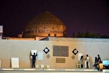 گالری پارچه به وسعت یک شهر در یزد
