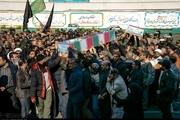 پیکر مطهر دو شهید گمنام در رشت تشییع شد