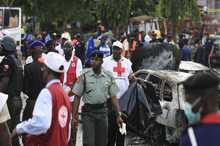 حمله انتحاری یک زن به بازار نیجریه+ تصاویر