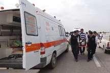 برخورد 2خودرو در محور شهرکرد به خوزستان 6 مصدوم برجای گذاشت