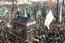 آیین نخل گردانی درشهر جاجرم خراسان شمالی برگزار شد