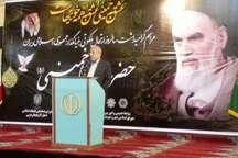 امام راحل با پایه ریزی انقلاب اسلامی پایگاه مقاومت جهانی مستضعفان را تاسیس کردند