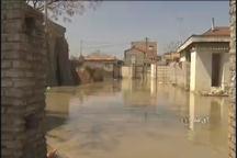 تصاویر از آبگرفتگی آق قلا و گمیشان در استان گلستان
