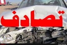 برخورد 4 دستگاه خودرو با 2 کشته و 8 مصدوم در فارس