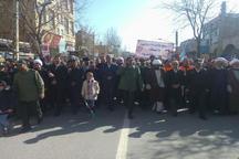 امام جمعه هشترود: مردم با حضور در راهپیمایی، وفاداری خود به نظام را نشان دادند