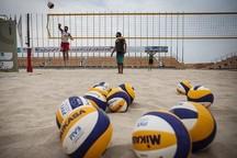 تیم ملی والیبال ساحلی زیر 19 سال کشورمان در بندرعباس اردو زد