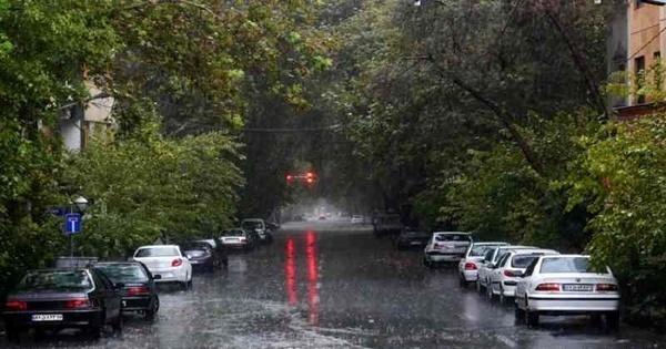 موج جدید بارشها در استانهای غربی و شمالی کشور  تهران فردا بارانی است