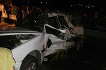تصادف کامیون با سواری در گالیکش سه کشته و سه مجروح برجای گذاشت