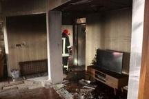روشن ماندن اتو خانهای را به آتش کشید