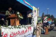 ارتش جمهوری اسلامی علاوه بر آمادگی رزمی در تجهیزات نظامی خودکفاست