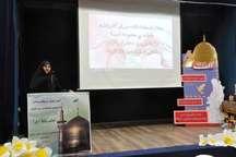 جشنواره دختران آفتاب با اختتامیه جشنواره رضوی در اردبیل برگزار شد