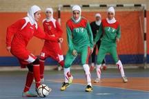 تیم های اراک و یزد به مرحله نهایی لیگ فوتسال بانوان کشور صعود کردند