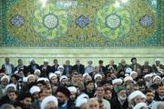آیین جشن عید غدیر خم در دفتری رهبری در قم برگزار شد