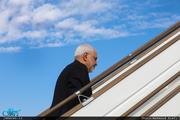 ظریف پکن را به مقصد تهران ترک کرد