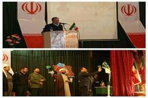 فرماندار تکاب: تحقق آرمان های انقلاب نیازمند حرکت در مسیر منافع ملی است