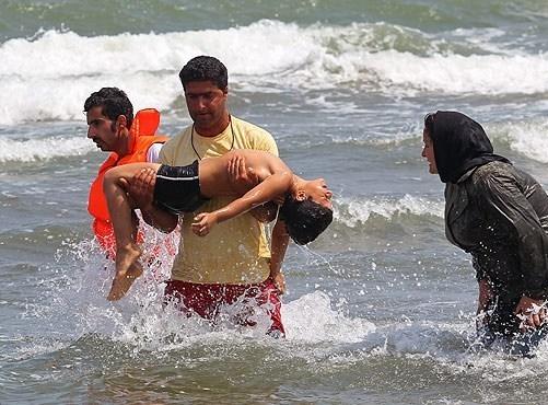 مرگ 2 نوجوان در آب های ساحلی غرب مازندران