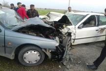 سانحه رانندگی در محور جیرفت به کرمان یک کشته برجا گذاشت