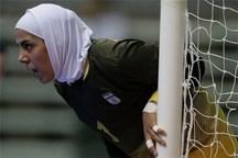 گلر تیم ملی فوتسال بانوان ایران در میان ۱۰ دروازهبان برتر سال  2018 جهان