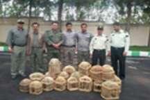 با دستگیری شکارچی زنده گیر مهابادی 22 بال کبک کشف و ضبط شد