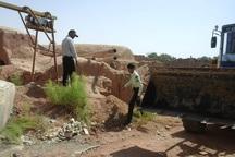 15حلقه چاه آّب غیرمجاز در قلعه گنج پلمب شد