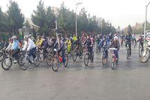 همایش دوچرخه سواری هفته وحدت در مشهد