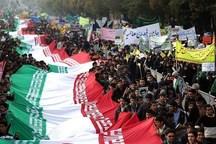 مسیرهای 60 گانه راهپیمایی 22 بهمن در مازندران اعلام شد