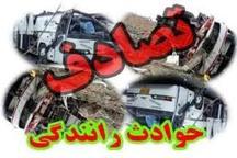 برخورد یک دستگاه سواری پژو پارس با کامیون دو کشته بر جای گذاشت
