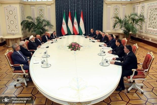 روحانی: روابط تهران – دوشنبه باید در مسیر منافع دو ملت بیش از پیش گسترش یابد