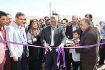 2 طرح کشاورزی با حضور وزیر جهاد کشاورزی در دهاقان افتتاح شد