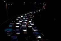 ترافیک محورد بجنورد- جنگل گلستان نیمه سنگین است