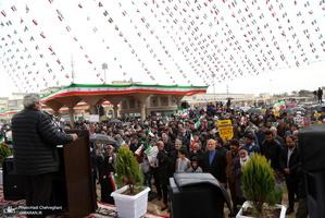 راهپیمایی باشکوه 22 بهمن در قم