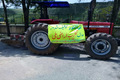 یک دستگاه تراکتورحین تخریب مراتع در دیواندره توقیف شد