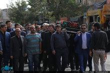 مراسم تشییع و بزرگداشت صبیه آیت الله محمد باقر زنجانی