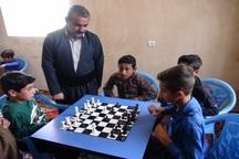 چهار خانه ورزش روستایی در روانسر راه اندازی شد