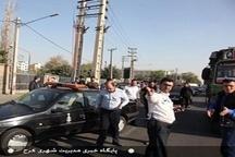 اجرای طرح گشت انتظامی مشترک با پلیس راهور  حفاظت از منافع تاکسیداران کرجی