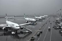 مه 6 پرواز فرودگاه اهواز را باطل کرد