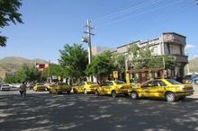 بانه شهر تاکسی های دربستی