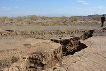 فرونشست زمین در دشتهای بحرانی خراسان رضوی ادامه دارد