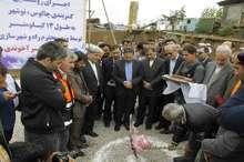 آغاز عملیات اجرایی سه طرح راهسازی با حضور وزیر راه در چالوس