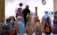 خریداران اروپایی و کانادایی در نمایشگاه صنایع دستی ایران