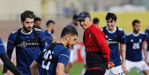 چرا تیم های ایران و عراق امروز درورزشگاه آل مکتوم تمرین نمی کنند؟