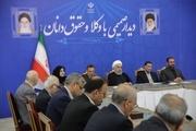 روحانی: تحریمهای آمریکا علیه ملت ایران ، جنایت علیه بشریت است/ بزرگترین قدرت برای دفاع از نظام، مردم ایران هستند