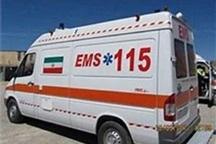 چهار نفر در یک سانحه رانندگی درجاده مسجد سلیمان مصدوم شدند