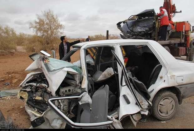 ۳۰ درصد سوانح رانندگی مازندران سهم پراید است