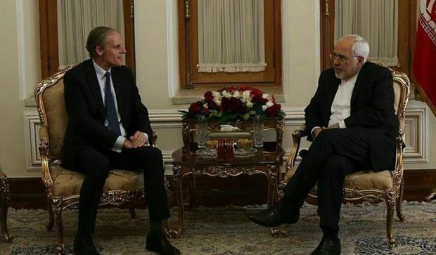 دیدار دبیرکل وزارت امور خارجه فرانسه با دکتر ظریف